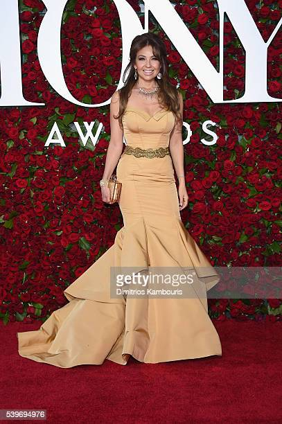 Thalia attends the 70th Annual Tony Awards at The Beacon Theatre on June 12 2016 in New York City