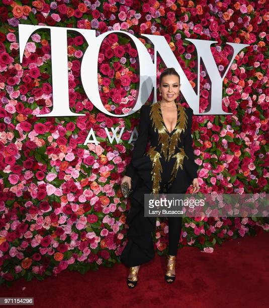 Thalia attends the 72nd Annual Tony Awards at Radio City Music Hall on June 10 2018 in New York City