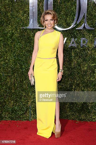 Thalia attends the American Theatre Wing's 69th Annual Tony Awards at Radio City Music Hall on June 7 2015 in New York City