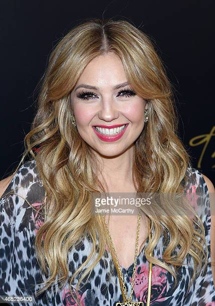 Thalia attends the launch of the Thalia Sodi Collection at Macy's Herald Square on March 4 2015 in New York City