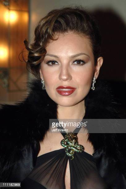 Thalia during 20th Annual Rock and Roll Hall of Fame Induction Ceremony - Audience and Backstage at Waldorf Astoria Hotel in New York City, New York,...