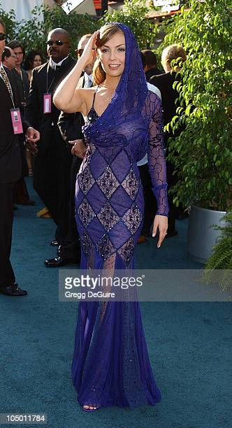 Thalia during 3rd Annual Latin GRAMMY Awards Arrivals at Kodak Theatre in Hollywood California United States