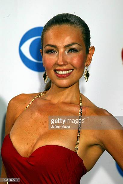 Thalia during 4th Annual Latin GRAMMY Awards Arrivals at American Airlines Arena in Miami Florida United States