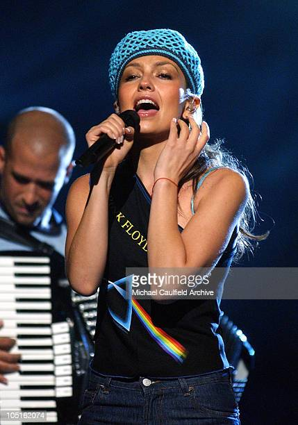 Thalia during 4th Annual Latin GRAMMY Awards Rehearsals Day 2 in Miami United States