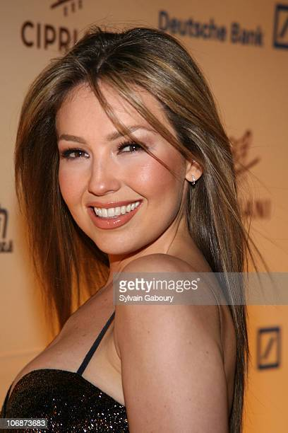 Thalia during Gloria Estefan kicked off the 2006 Cipriani Deutsche Bank Concert Series benefiting AmFAR at Cipriani Wall Street at 55 Wall Street in...