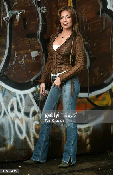 Thalia during Tahlia Video Shoot June 21 2002 in New York City New York United States