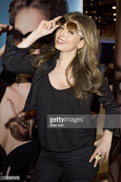 Thalia during Thalia Appearance at Vision Expo East to Promote Her 2007 Eyewear and Sunwear Collections at Jacob K Javits Center in New York City New...