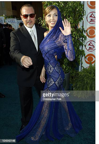 Thalia during The 3rd Annual Latin GRAMMY Awards Arrivals at Kodak Theater in Hollywood California United States
