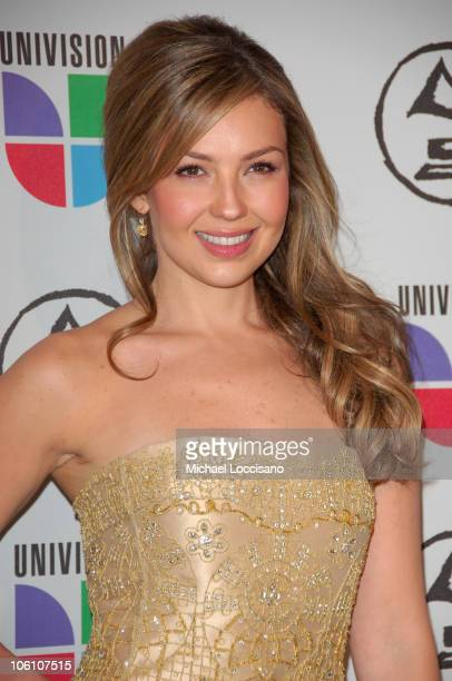 Thalia during The 7th Annual Latin GRAMMY Awards Arrivals at Madison Square Garden in New York City New York United States