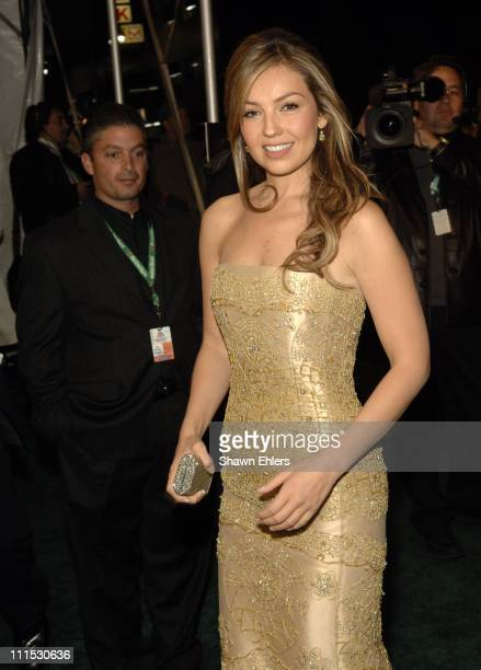 Thalia during The 7th Annual Latin GRAMMY Awards Clinique Arrivals at Madison Square Garden in New York City New York United States