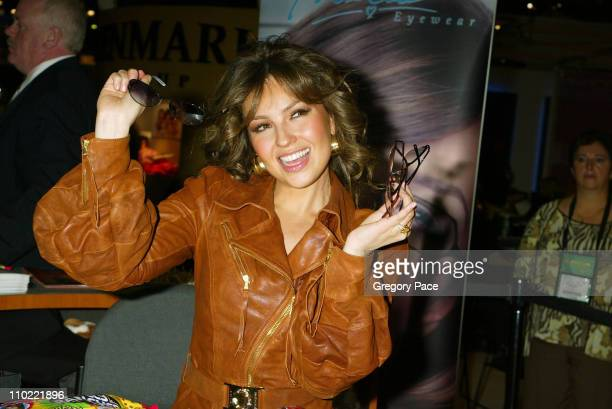 Thalia during The International Vision Expo East 2005 Day 1 at Jacob Javits Center in New York City New York United States