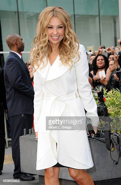 Thalia Honored On The Hollywood Walk Of Fame on December 5 2013 in Hollywood California