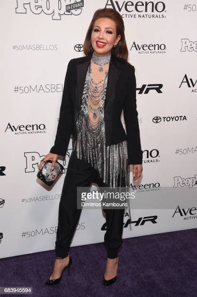 Thalia Mottola arrives at People en Espanol's 50 Most Beautiful Gala 2017 at Espace on May 16 2017 in New York City