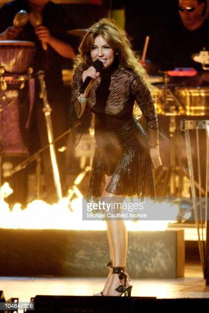 Thalia performs No Me Ensenaste at the 3rd Annual Latin GRAMMY Awards at the Kodak Theater