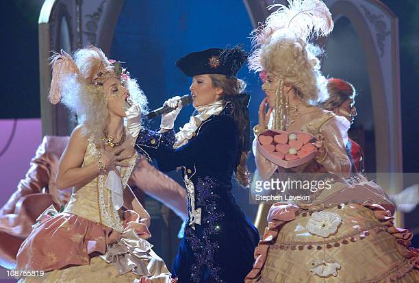 Thalia performs 'Seduccion' during The 7th Annual Latin GRAMMY Awards Show at Madison Square Garden in New York City New York United States