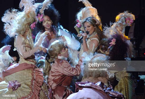 Thalia performs Seduccion during The 7th Annual Latin GRAMMY Awards Show at Madison Square Garden in New York City New York United States