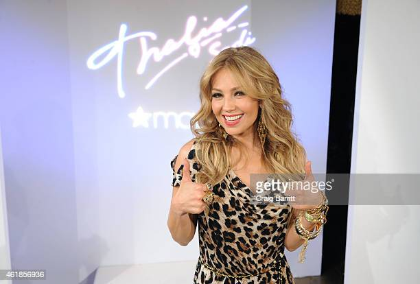 Thalia Sodi attends the Thalia Sodi Collection Preview at Goldbar on January 20 2015 in New York City