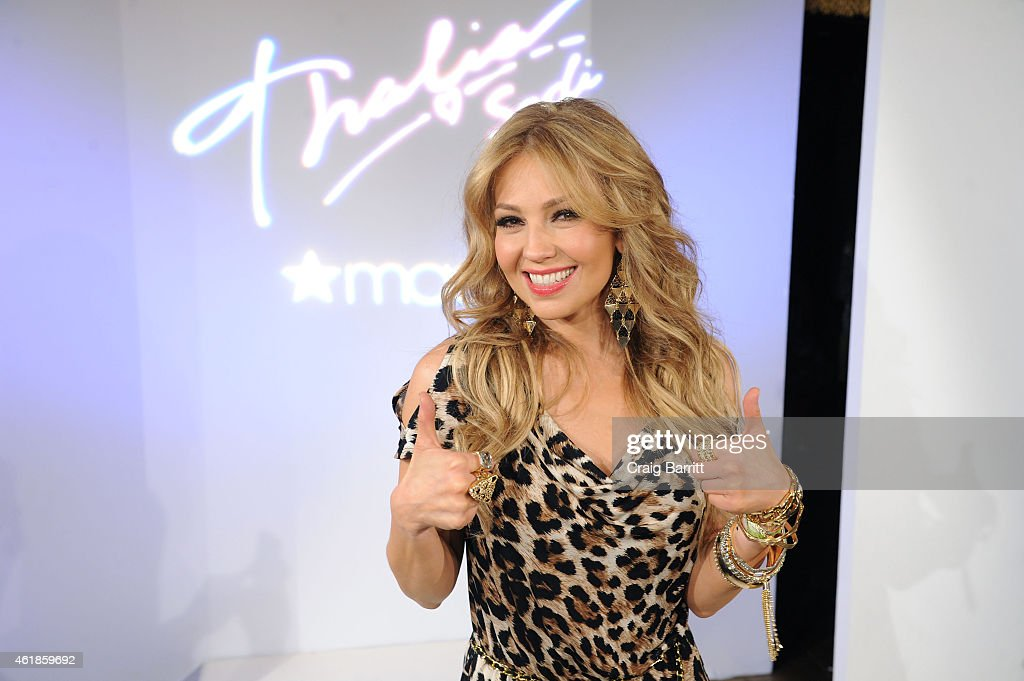 Thalia Sodi For Macy's Fashion Show Launch Party