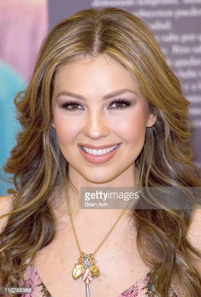 Thalia Sodi during Thalia Sodi And Kmart Team Up To Raise Money For The March Of Dimes March 21 2006 at Kmart Penn Plaza in New York City NY United...