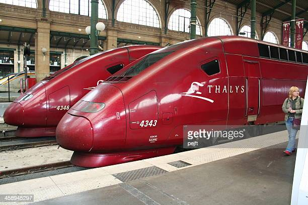 Thalys trainsets at Gare du Nord