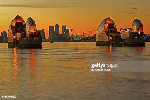 Thames Barrier, Charlton, London, United Kingdom