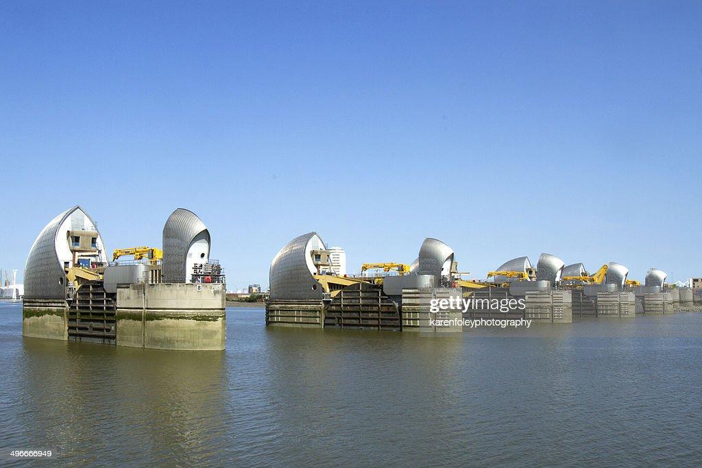 Thames Barrier : Stock Photo