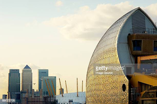 thames barrier - london docklands stock pictures, royalty-free photos & images