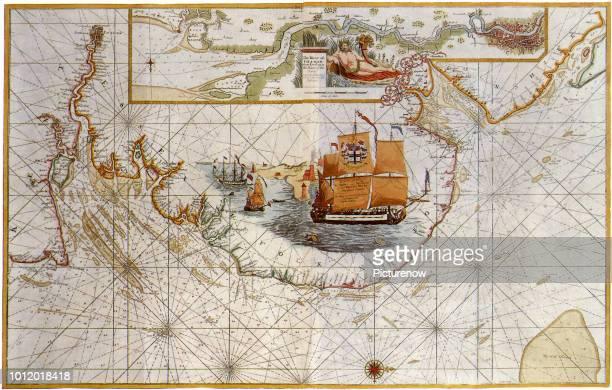 Thames Estuary 1693 Collins Captain Greenville