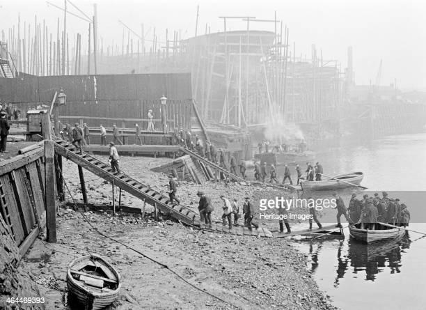 Thames Ironworks London c1908