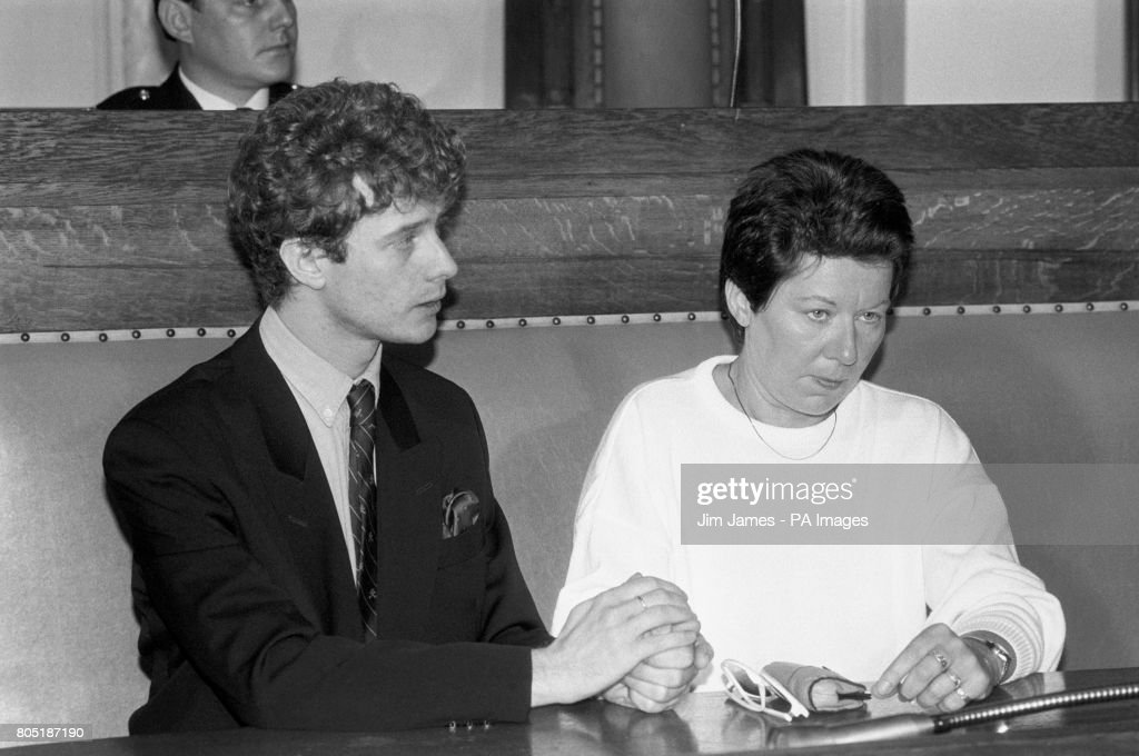 Thames pleasure boat 'Marchioness disaster survivors Mark Frederick, 30, and Odette Penwarden at Southwark Town Hall, London, when an appeal fund for victims and relatives was launched.