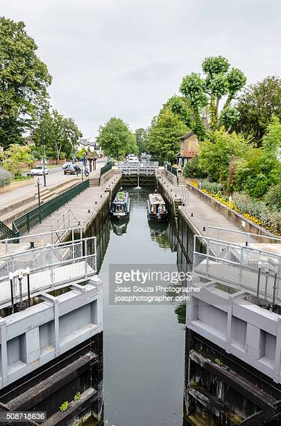 Thames River Canal in Maidenhead - England