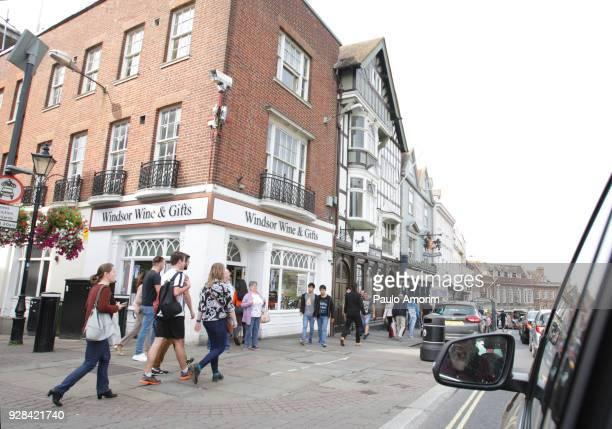 Thames Street in Windsor,England