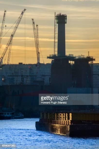Thames Tower Sunset