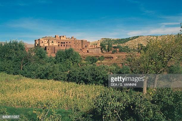 Thami El Glaoui kasbah, Telouet, High Atlas, Morocco.
