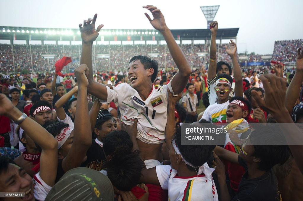 FBL-MYANMAR-UAE-AFC : News Photo