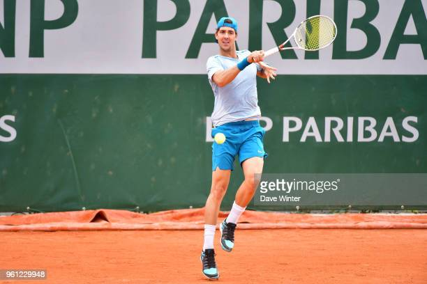 Thanasi Kokkinakis during qualification for the French Open 2018 at Roland Garros on May 21 2018 in Paris France