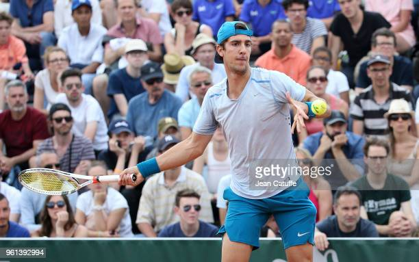 Thanasi Kokkinakis of Australia during the qualifications of the 2018 French Open at Roland Garros on May 21 2018 in Paris France
