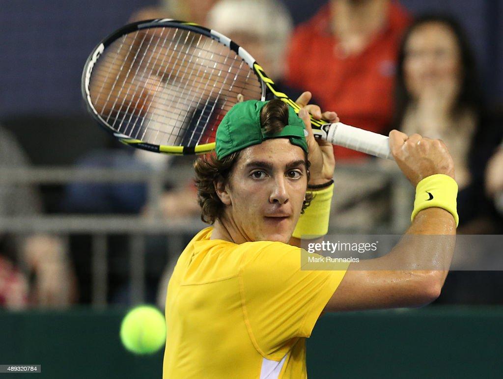 Great Britain v Australia Davis Cup Semi Final 2015 - Day 3 : News Photo