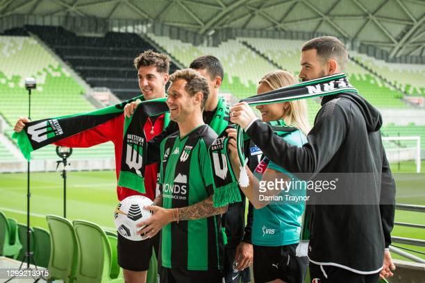 Thanasi Kokkinakis, Scott Pendlebury of Collingwood Football Club, Alessandro Diamanti of Western United, Elizabeth Watson of the Melbourne Vixens...