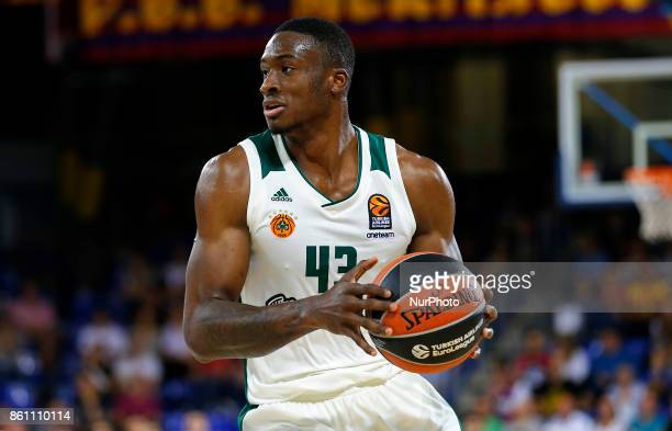 Thanasis Antetokounmpo during the match between FC Barcelona v Panathinaikos BC corresponding to the week 1 of the basketball Euroleaguein Barcelona...