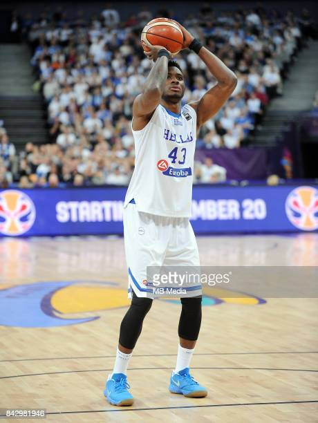 Thanasis Antetokounmpo of Greece during the FIBA Eurobasket 2017 Group A match between Greece and Finland on September 5 2017 in Helsinki Finland
