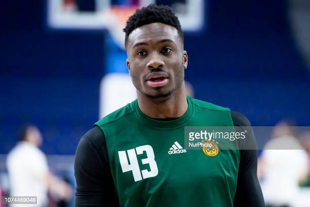 Thanasis Antetokounmpo of Panathianikos Opap Athens during Turkish Airlines Euroleague match between Real Madrid and Panathinaikos Opap Athens at...