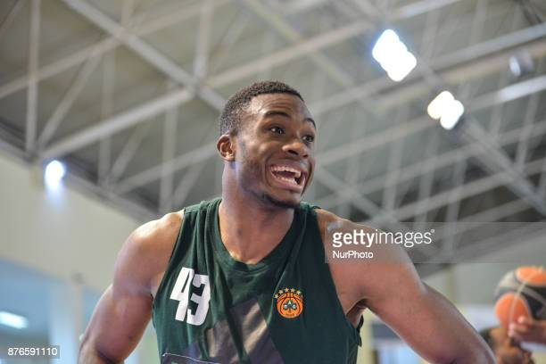 Thanasis Antetokounmpo player of Panathinaikos BC and the Greek National Team in action during Championship Basket League match between GSKymis and...