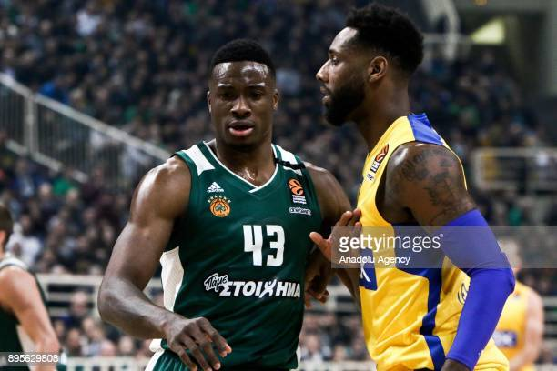 Thanasis Antetokunmpo of Panathinaikos Superfoods Athens in action during the Turkish Airlines Euroleague basketball match between Panathinaikos...