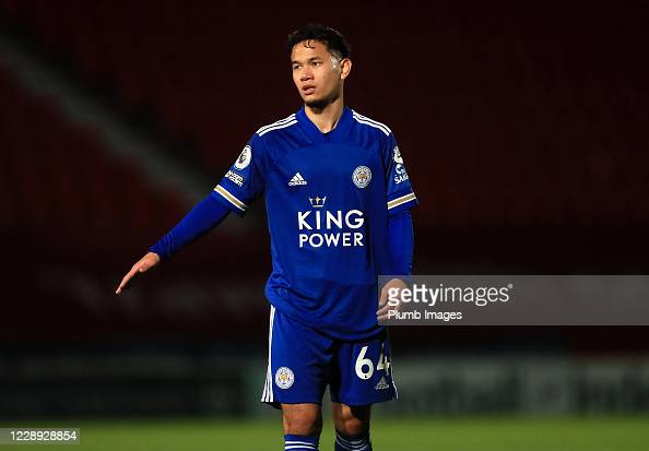 Thanawat Suengchitthawon of Leicester City during the EFL Trophy... Photo  d'actualité - Getty Images