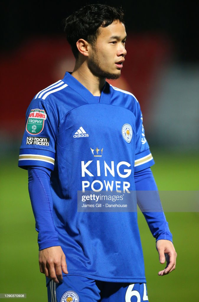 Thanawat Suengchitthawon of Leicester City U21 during the EFL Trophy...  News Photo - Getty Images