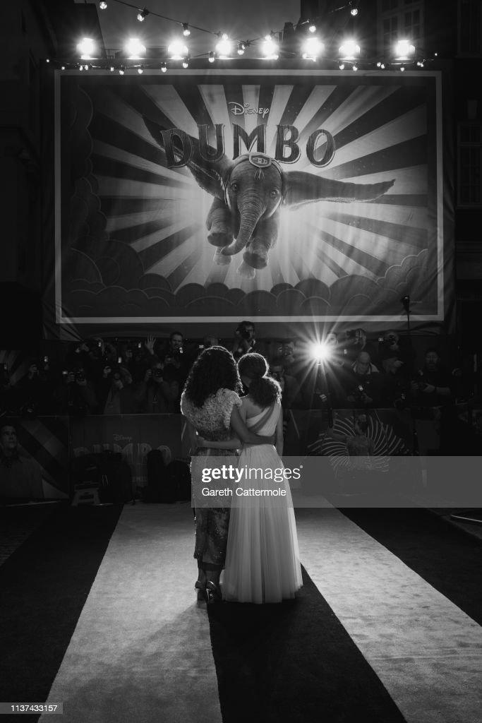 "GBR: European Premiere of Disney's ""Dumbo"""