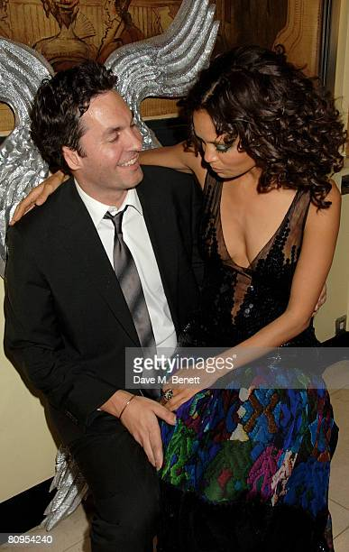 Thandie Newton and Ol Parker attend the 10th Anniversary Party of The Lavender Trust where Nigella Lawson Thandie Newton Justine Picardie Emma...