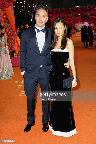 Thandie Newton and Ol Parker attend The Royal Film Performance and World Premiere of The Second Best Exotic Marigold Hotel at Odeon Leicester Square...