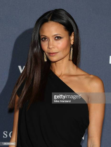 Thandie Newton arrives at the Laureus World Sports Awards at the Queen Elizabeth Hall on February 6, 2012 in London, England.